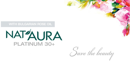 NAT'AURA PLATINUM 30 + SAVE THE BEAUTY-