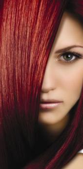 Гель- краска для волос огненно- красный