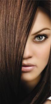 Гель- краска для волос каштан