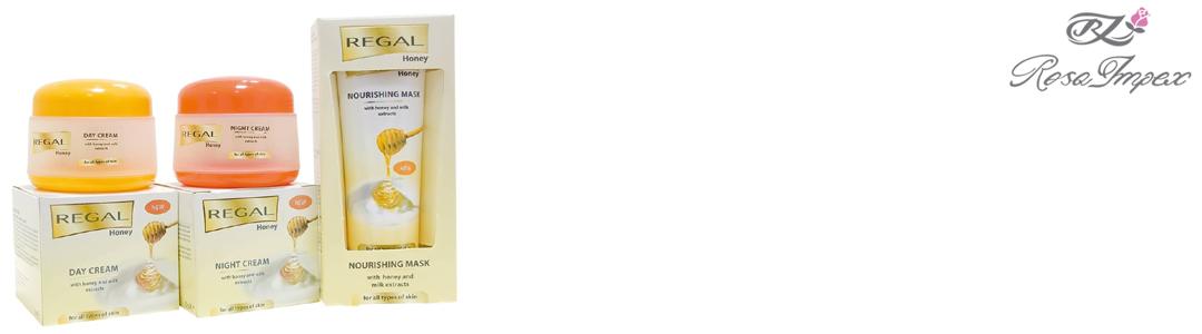 Регал с экстрактом из акациевого меда и молока